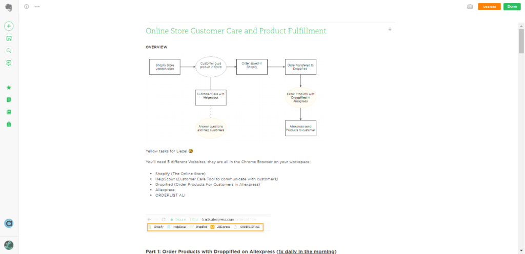 Online Store Customer Care and Product Fulfillment Manager